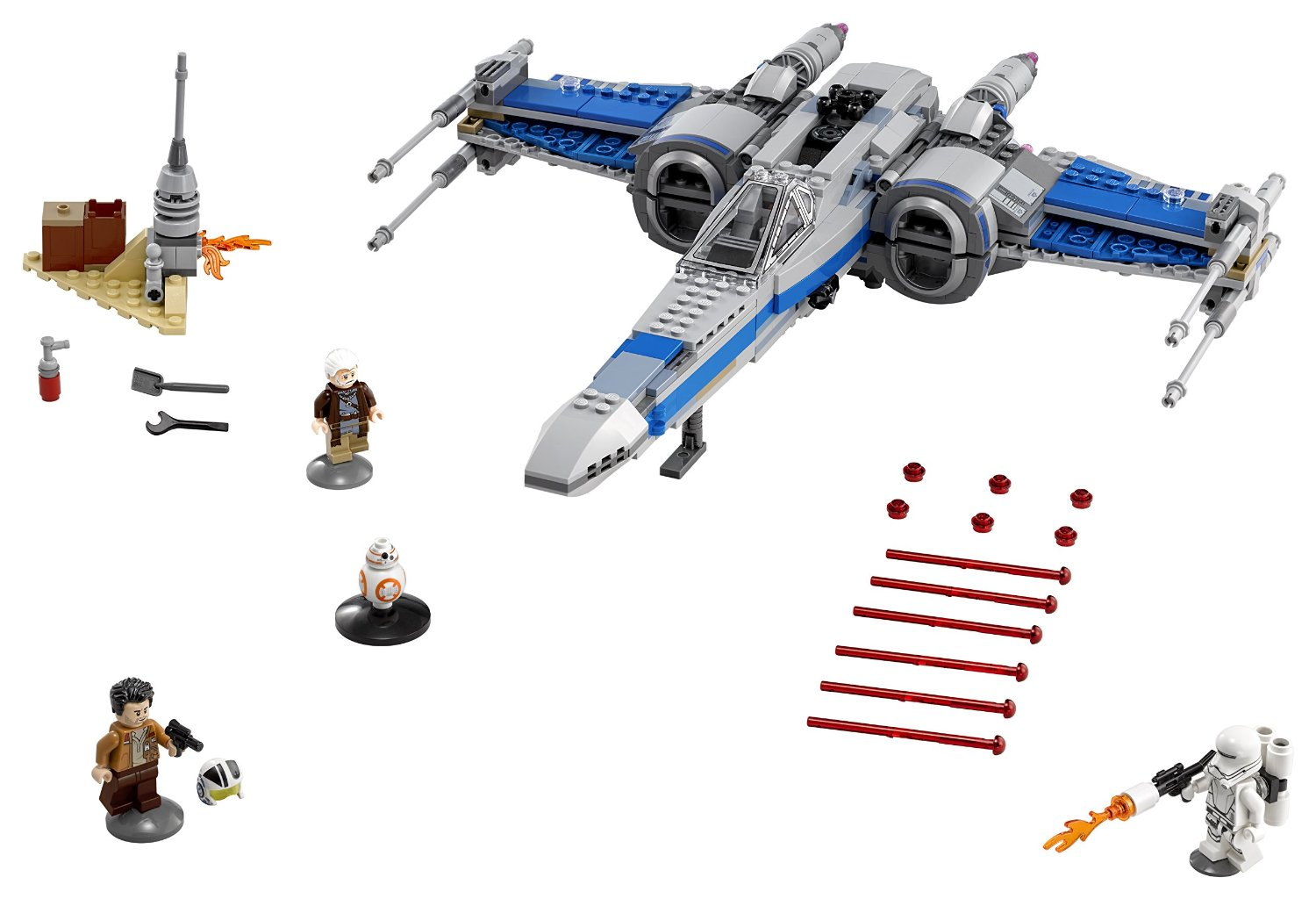 LEGO Star Wars Resistance X-Wing Fighter | Best Toys